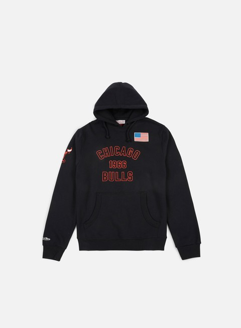 Sale Outlet Hooded Sweatshirts Mitchell & Ness Established Year Hoody Chicago Bulls