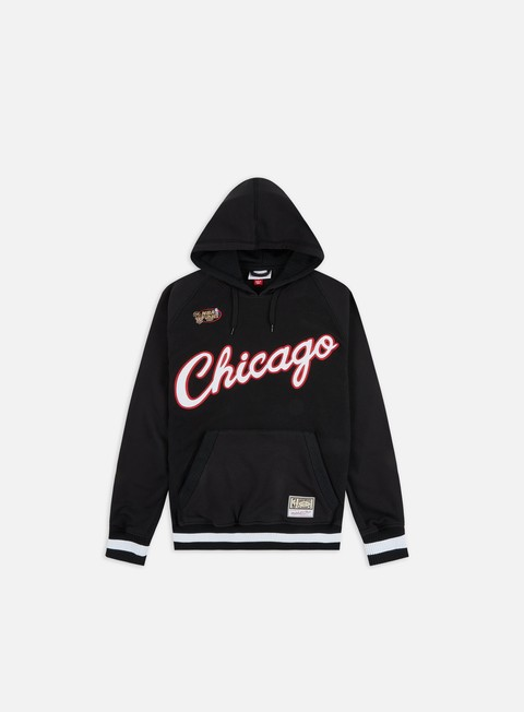 Outlet e Saldi Felpe con Cappuccio Mitchell & Ness Gametime Hoodie Chicago Bulls
