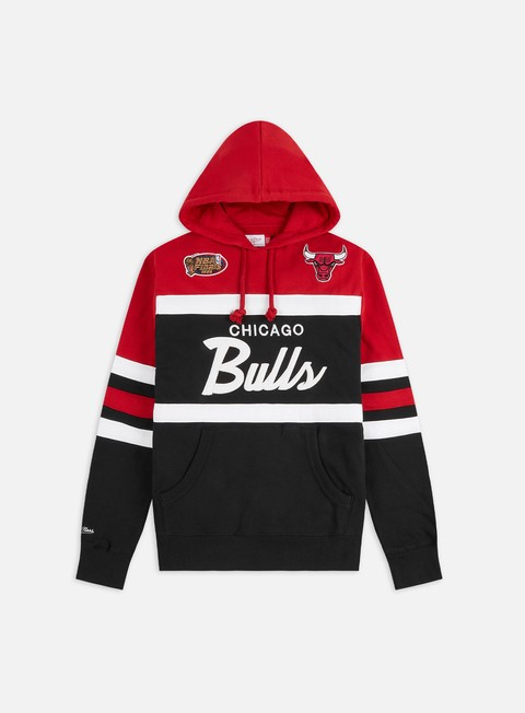 Mitchell & Ness Head Coach Hoodie Chicago Bulls