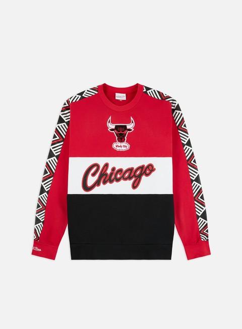 Crewneck Mitchell & Ness Leading Scorer Fleece Crewneck Chicago Bulls