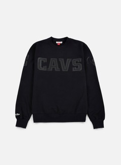 Mitchell & Ness - NBA Bank Shot Crewneck Cleveland Cavaliers, Black 1