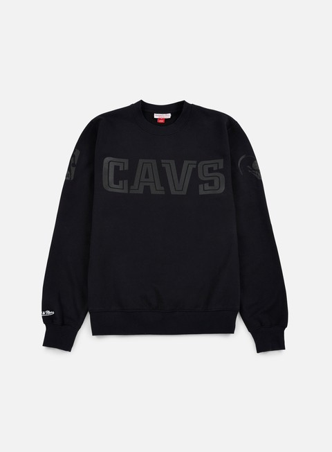 Mitchell & Ness NBA Bank Shot Crewneck Cleveland Cavaliers