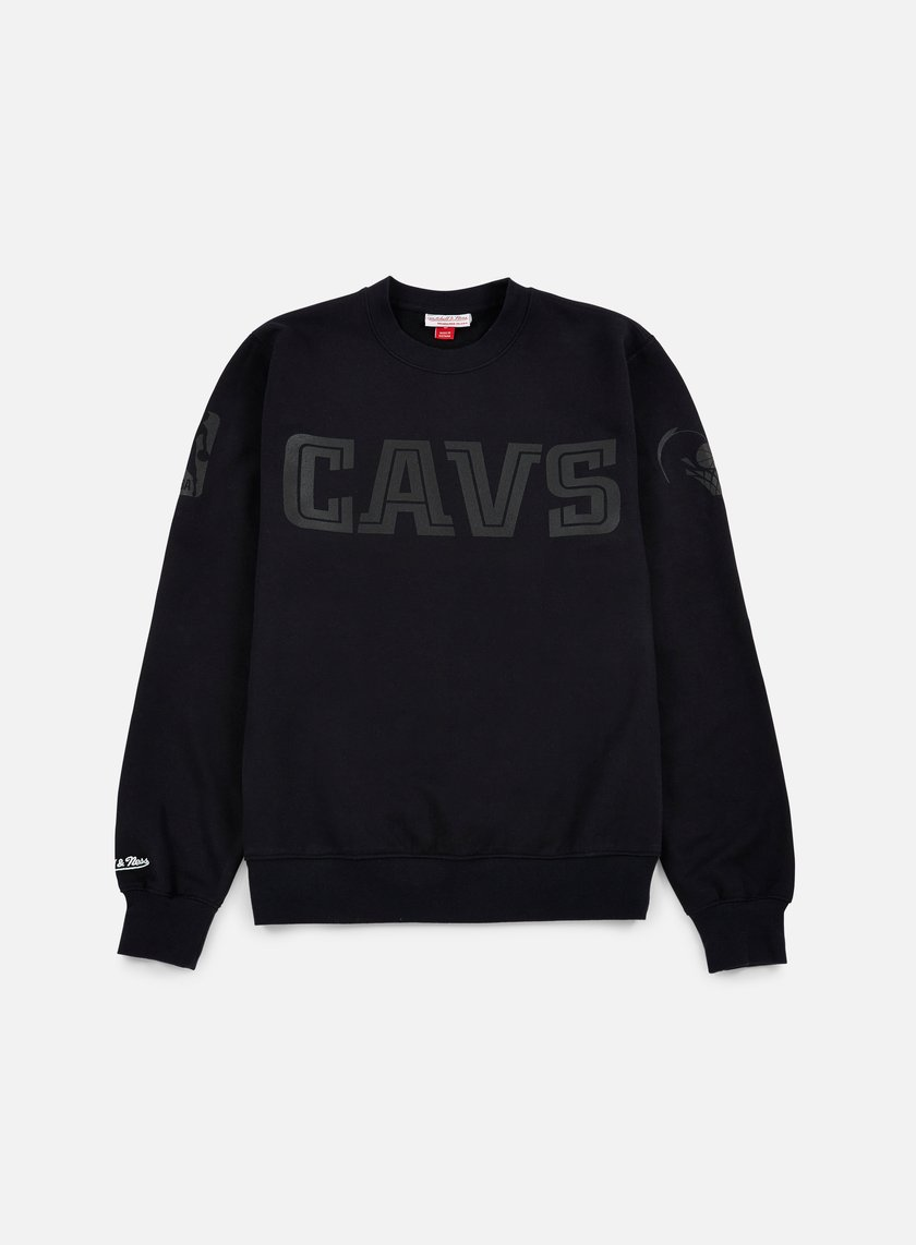 Mitchell & Ness - NBA Bank Shot Crewneck Cleveland Cavaliers, Black