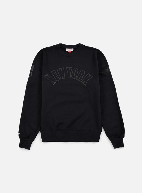 Crewneck Sweatshirts Mitchell & Ness NBA Bank Shot Crewneck NY Knicks