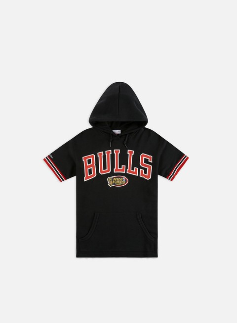 Hoodie Mitchell & Ness NBA N&N French Terry SS Hoodie Chicago Bulls