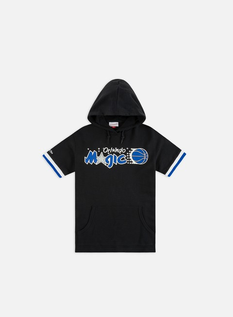Outlet e Saldi Felpe con Cappuccio Mitchell & Ness NBA N&N French Terry SS Hoodie Orlando Magic