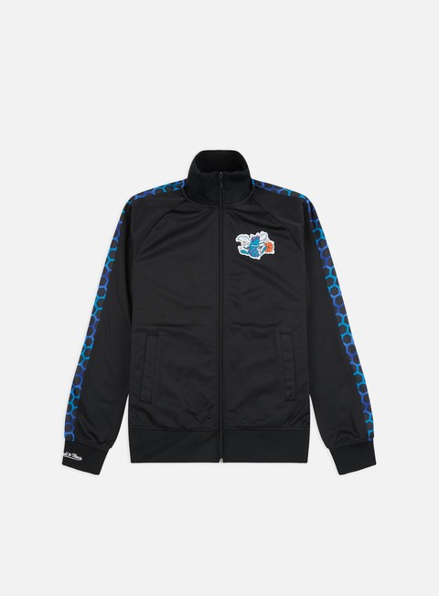 Outlet e Saldi Track Top Mitchell & Ness NBA Track Jacket Charlotte Hornets