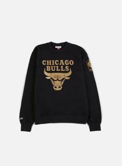 Mitchell & Ness - NBA Winning Percentage Crewneck Chicago Bulls, Black 1
