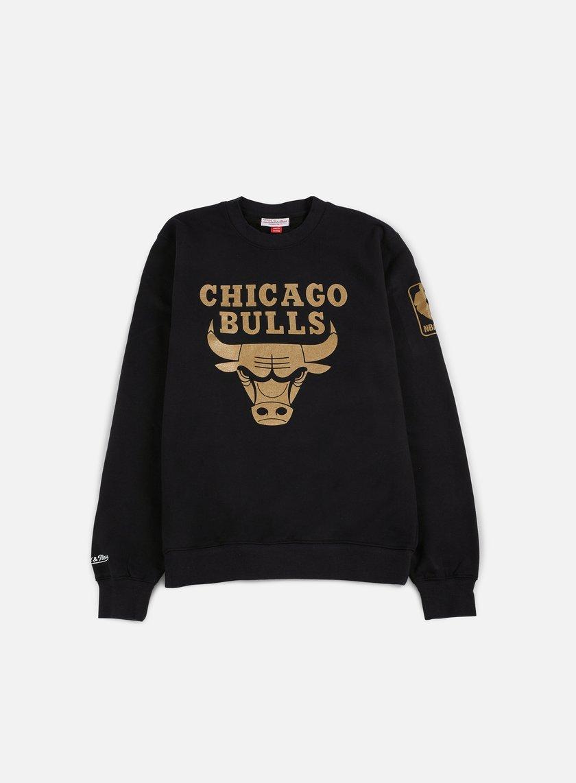 Mitchell & Ness - NBA Winning Percentage Crewneck Chicago Bulls, Black
