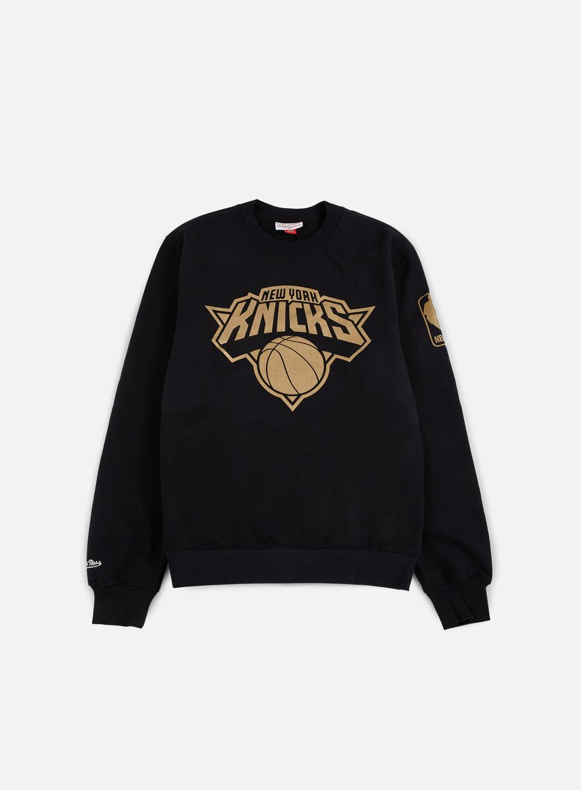 Mitchell & Ness - NBA Winning Percentage Crewneck NY Knicks, Black