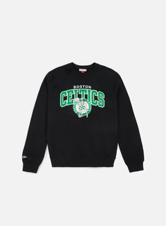 Mitchell & Ness Team Arch Crewneck Boston Celtics