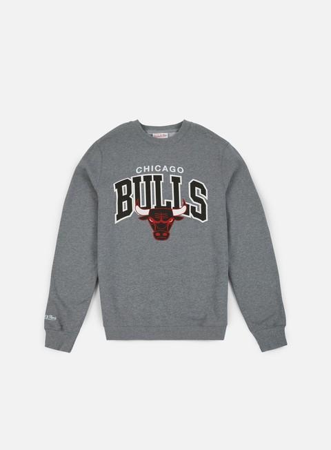 Crewneck Mitchell & Ness Team Arch Crewneck Chicago Bulls