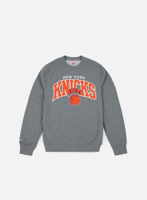 Crewneck Mitchell & Ness Team Arch Crewneck NY Knicks