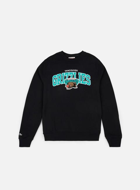 Crewneck Sweatshirts Mitchell & Ness Team Arch Crewneck Vancouver Grizzlies