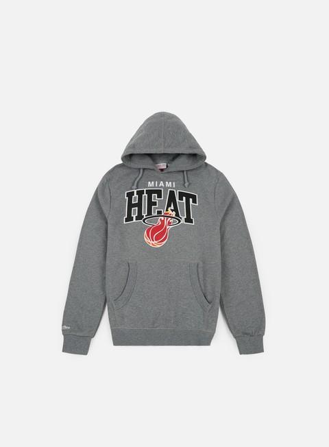 Hoodie Mitchell & Ness Team Arch Hoody Miami Heat