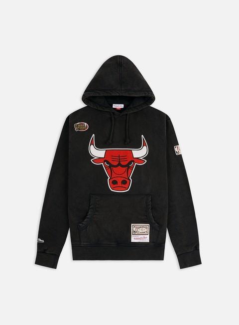 Mitchell & Ness Worn Logo/Wordmark Hoodie Chicago Bulls