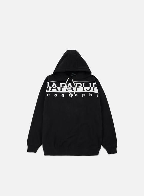 felpe napapijri badstow hoodie black