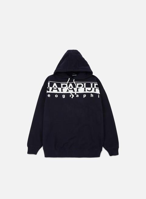 felpe napapijri badstow hoodie blue marine