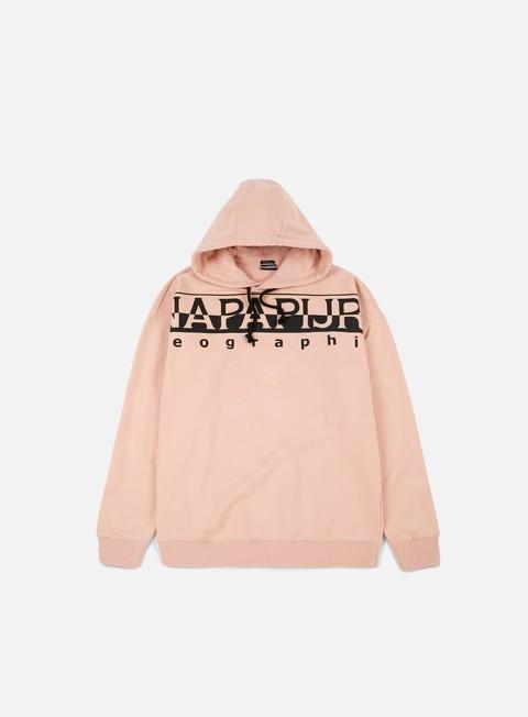 felpe napapijri badstow hoodie tea rose
