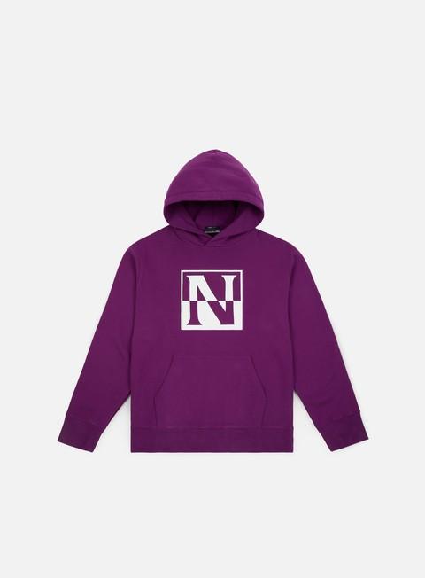 felpe napapijri baoding hoodie mid purple