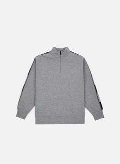 Napapijri - Beja Half Zip Sweatshirt, Medium Grey Melange