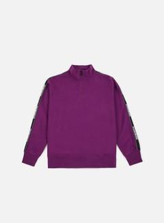 Napapijri - Beja Half Zip Sweatshirt, Mid Purple