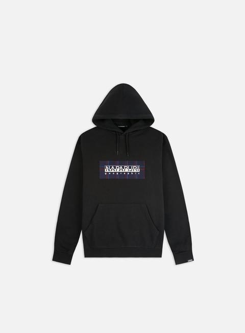 Sale Outlet Hooded Sweatshirts Napapijri Box Check Hoodie