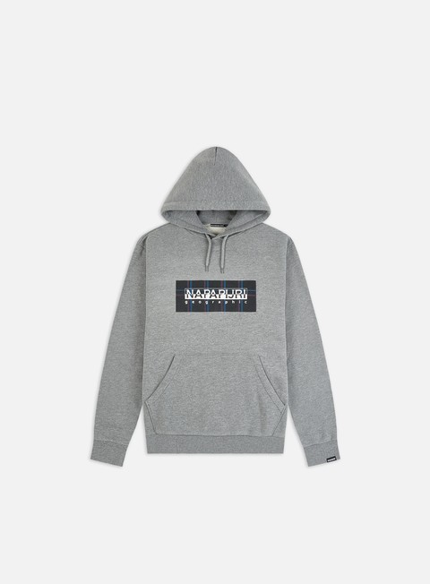Hooded Sweatshirts Napapijri Box Check Hoodie