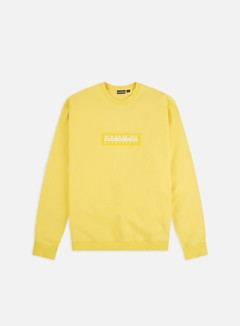 Napapijri - Box Crewneck, Yellow Sunshine