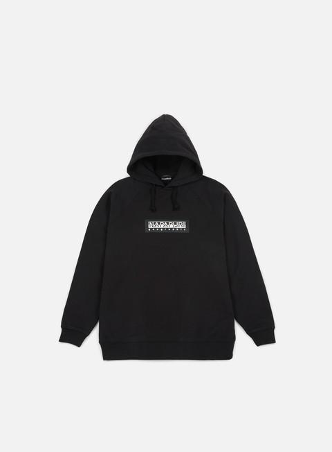 felpe napapijri buka hoodie black