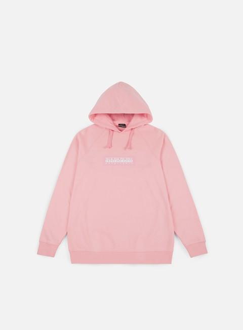 felpe napapijri buka hoodie light pink