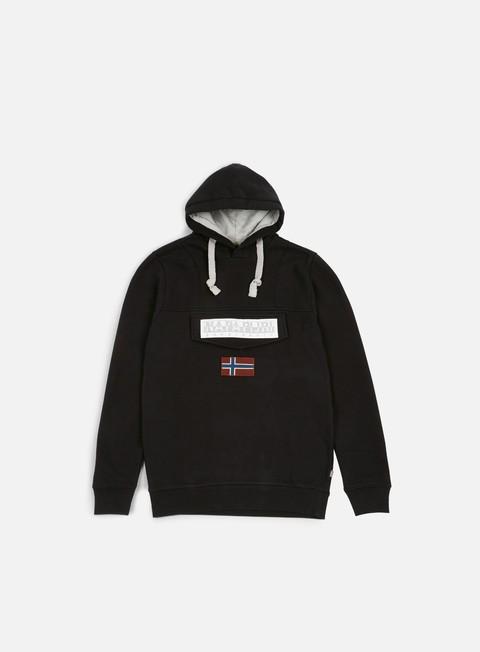 felpe napapijri burgee 1 hoodie black