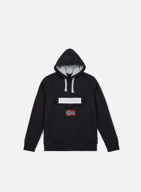 Sale Outlet Hooded Sweatshirts Napapijri Burgee 2 Hoodie