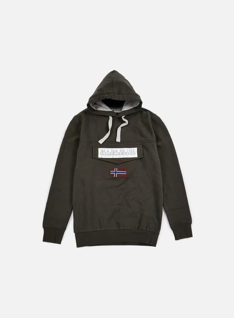 Hooded Sweatshirts Napapijri Burgee Hoodie