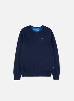 Napapijri - Dakshin Crewneck Sweater, Blu Marine