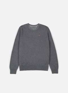 Napapijri - Dakshin Crewneck Sweater, Dark Grey Melange 1