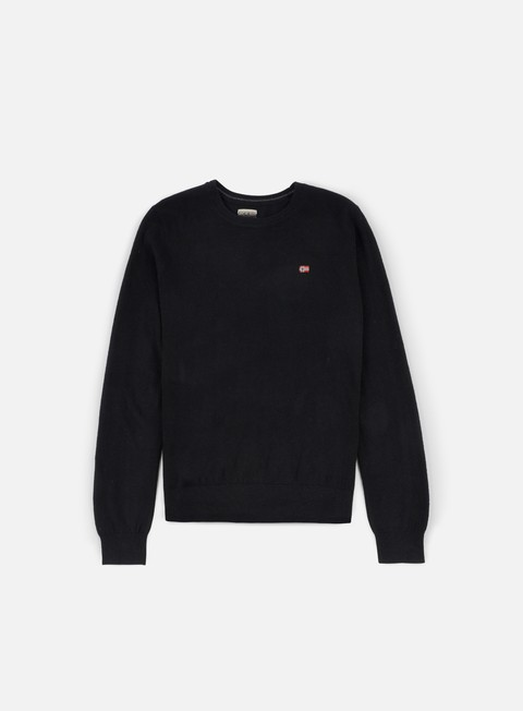 felpe napapijri damavand crewneck sweater black