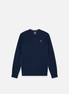 Napapijri - Damavand Crewneck Sweater, Blue Marine