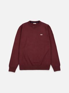 Napapijri - Davesh Crewneck Sweater, Barolo