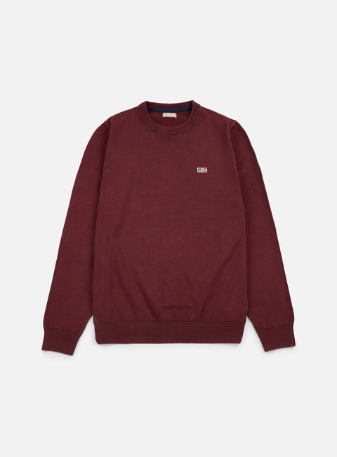 felpe napapijri davesh crewneck sweater barolo