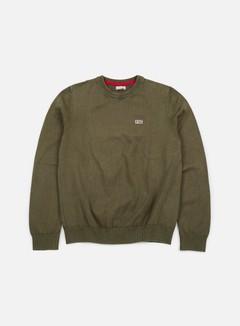 Napapijri - Davesh Crewneck Sweater, Grey Olive 1