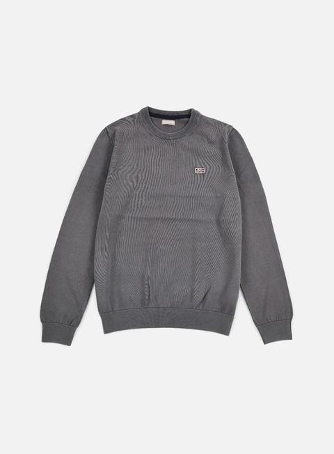 felpe napapijri davesh crewneck sweater volcano
