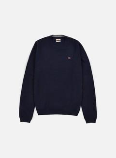 Napapijri - Dorek Crewneck Sweater, Blu Marine 1