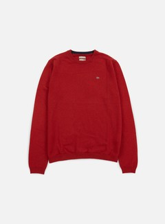 Napapijri - Dorek Crewneck Sweater, Old Red 1