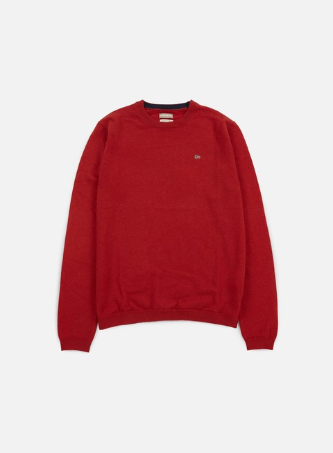felpe napapijri dorek crewneck sweater old red