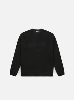 Napapijri - Tame Fleece Crewneck, Black