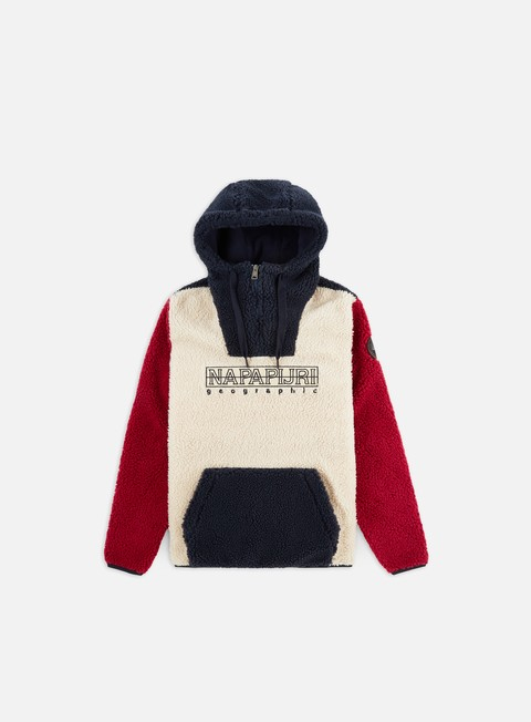 Sweaters and Fleeces Napapijri Teide 2 Hooded Pile