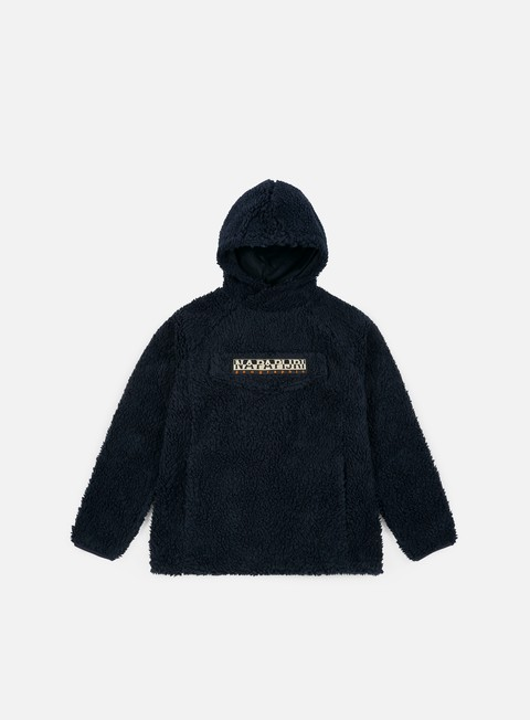 Intermediate Jackets Napapijri Telve Fleece Hoodie