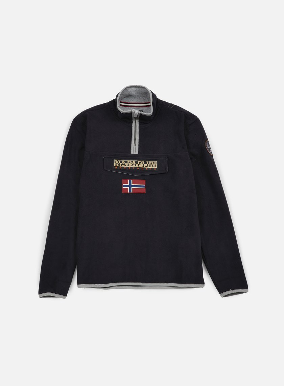 Napapijri - Tosy Half Zip Sweatshirt, Black