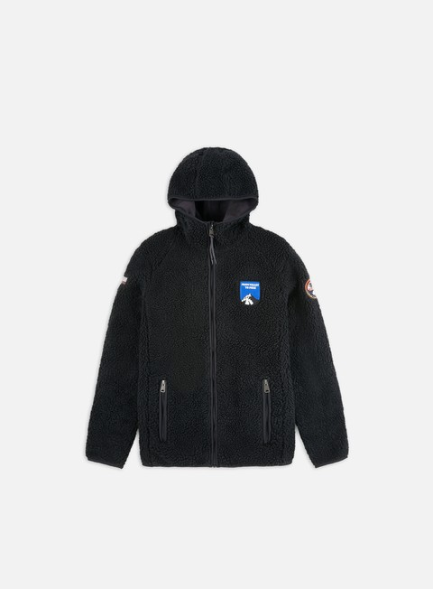 Hooded Sweatshirts Napapijri Yupik FZ Hooded Pile